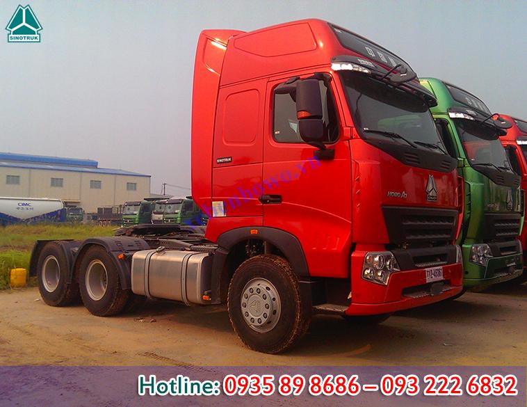 Đầu kéo HOWO A7 động cơ 375HP tải trọng 37.3 tấn