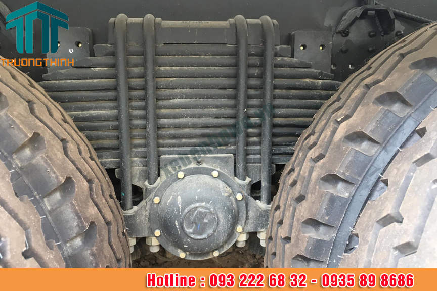 Xe trộn bê tông Shacman 10 m3 công suất 350 HP