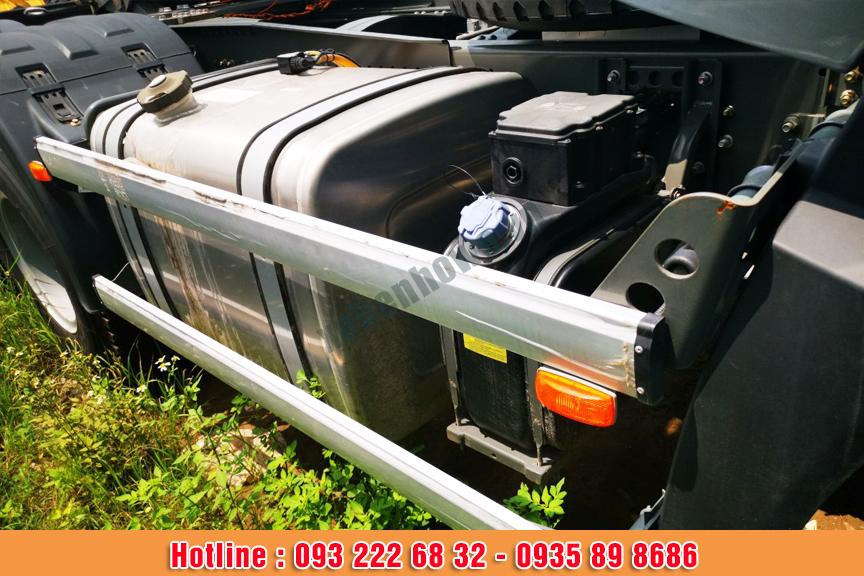 Xe đầu kéo HOWO A7 G động cơ 380HP tiêu chuẩn khí thải EURO V
