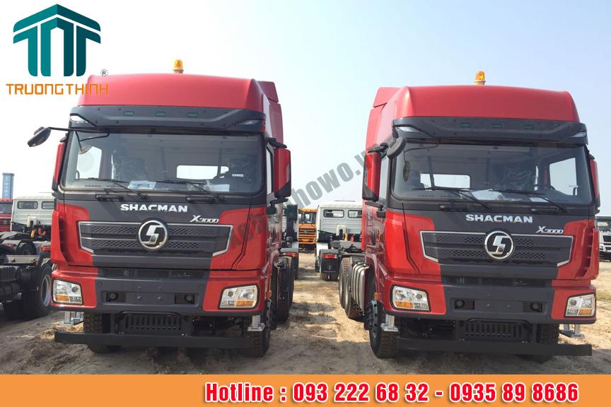 Xe đầu kéo SHACMAN công suất 430HP X3000